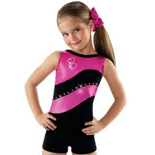Gymnastics Unitard for Ava's class.  Adorable!  Luv it!  Metallic  by Belera.  $29.95.  Dancewear Solutions.