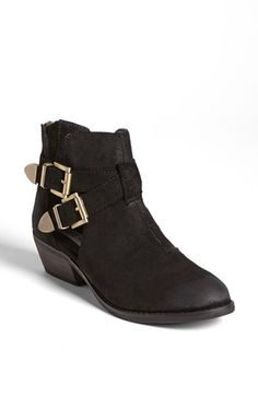 $87, Black Suede Chelsea Boots: Steve Madden Cinch Bootie Black Suede 85 M. Sold by Nordstrom. Click for more info: https://lookastic.com/women/shop_items/65934/redirect