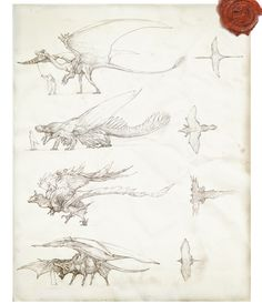 Prehistoric Dragons by IRIRIV.deviantart.com on @deviantART