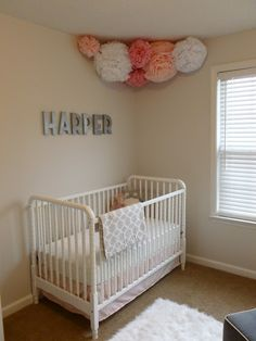 Adore this simple nursery: http://littlebabygarvin.blogspot.com/