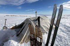 Aljaška na backcountry lyžích Sporten