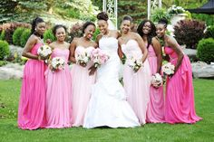 Wedding Color Pink - Pink Wedding Ideas | Wedding Planning, Ideas & Etiquette | Bridal Guide Magazine