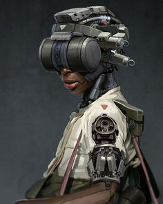 More Striking Sci-Fi Military Character Designs from FightPUNCH