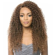 It's A Wig Lace Front Wig LACE WINTERCOLOR SHOWN: T4/30MATERIAL: SyntheticTYPE: Lace front wigHEAT SAFE: Yes - Safe Up To 350~400°FPremium synthetic hair Iron f