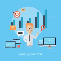 Business Training at Office Banner @creativework247