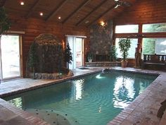 Nice little indoor pool!