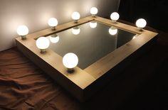 led, lighting, mirror, 조명거울, 조명화장대 http://blog.naver.com/zabt-