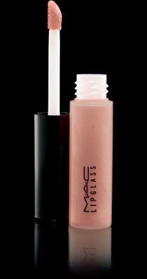 "Best lip gloss. ""Underage"". It is a nude color with a subtle pink-gold undertone."