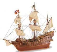 Ship model wooden kit San Juan Artesania Latina (www.victoryshipmodels.com)