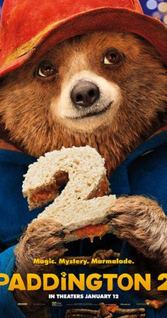 Directed by Paul King. With Ben Whishaw, Hugh Grant, Hugh Bonneville, Sally Hawkins. Paddington, now happily settled with the Brown family and a popular member of the local community, picks up a series of odd jobs to buy the perfect present for his Aunt Lucy's 100th birthday, only for the gift to be stolen.