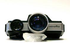 Vintage Minolta 110 Zoom Single Lens Reflex by CanemahStudios, $35.00