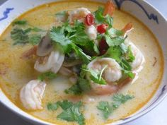 Thai Coconut and Shrimp Soup