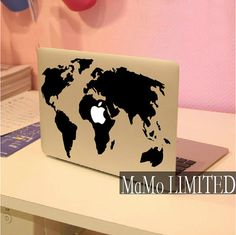 MapMacbook Decal Macbook Stickers Mac Cover Skins by MaMoLIMITED, $9.99