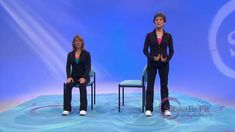 Sit and Be Fit - Seated and Standing Balance Exercise for Vertigo - Mary...