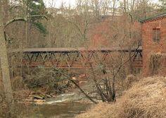 Covered Bridge at Vickery Creek   Roswell GA