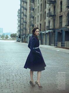 Marion Cotillard - love her style