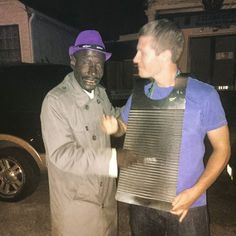 What a treat to receive a washboard lesson from this kind soul known as Windex Pete early Sunday morning #windex #windexpete #petethewindexman #bourbon #bourbonstreet #frenchquarter #treme by hairisonford