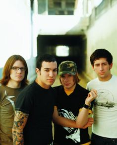 Fall Out Boy. Little baby Patrick back there trying to screw up your adulthood.