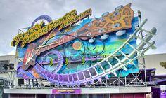 Rock 'n' Roller Coaster avec Aerosmith, Disneyland Paris - Walt Disney Studios Park I may like the Paris Rock 'n' Roller Coaster better than the Walt Disney World one. Disneyland Paris Attractions, Disneyland Paris Rides, Disney World Rides, Disney World Florida, Disney Land, Disney Resorts, Disney Trips, Disney Parks, Disney Aesthetic