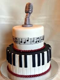 Image result for microphone cake