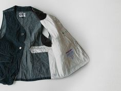 Inventory Magazine - Inventory Updates - Engineered Garments Denim Upland Vest