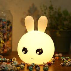 Led Night Light, Dark Night, Bunny Lamp, Plastic Drink Bottles, Rabbit Colors, Gift Box Packaging, Gold Wedding Invitations, Technical Drawing, Pusheen