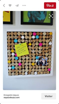 Do you like DIY crafts? Then this is the perfect post for you! Learn how to make these fun and brilliant easy DIY wine cork crafts now! Wine Cork Projects, Wine Cork Crafts, Bottle Crafts, Diy Projects To Try, Craft Projects, Cork Bulletin Boards, Cork Boards, Cork Art, Creation Deco