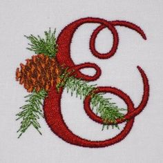 Alphabet embroidery patterns instant download