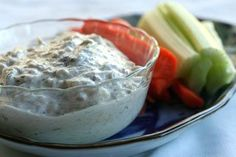Crab Dip ~ Delicious crab dip with lump crab meat, sour cream, mayonnaise, shallots, dill, lemon zest, white wine vinegar, and Worcestershire sauce. ~ SimplyRecipes.com