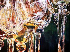 Wine glasses by Charlene Gerrish