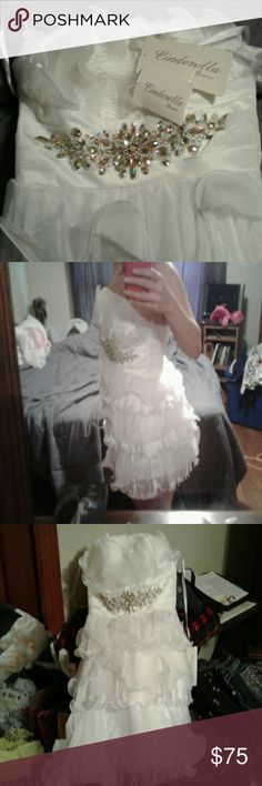 Brand New Dress Wear to your prom or even your wedding, Beautiful little dress (Cinderella Collection) Cinderella Devine Dresses Prom