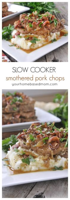 Make delicious and tender pork chops in your slow cooker