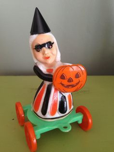 Vintage Halloween HTF Retro Rosbro Rosen Tico by santashauntedboot