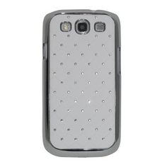 Rhinestone Samsung Galaxy S3 Case #iphone #case #accessories $21