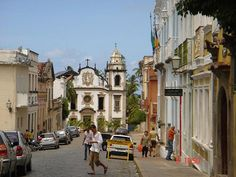 Olinda, Brazil.  Beautiful old city, great food
