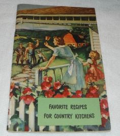 Vintage Favorite Recipes For Country Kitchens by Starrylitvintage