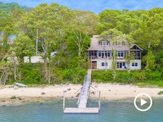 Your own beach. Your own dock. Sag Harbor. Wow.