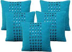 Dekor World Velvet Diamond Cushions Cover.