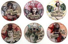 Epoxy Stickers Nostalgic 6 by Slipscraftstore on Etsy, $6.00