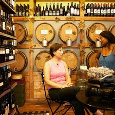 TV reporters on our Athens food tour! Inside a traditional wine store! 🍷 | #greekwine #Greece