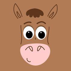 Bullseye Illustration © Clareta Avbiani Cumple Toy Story, Festa Toy Story, Toy Story Movie, Toy Story Party, Cute Disney Wallpaper, Cartoon Wallpaper, Toy Story Bedroom, Dibujos Toy Story, Imprimibles Toy Story