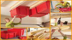 DIY Sliding Storage System