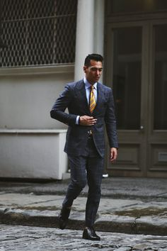 Faultless suiting.