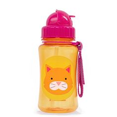 Skip Hop Zoo Straw Bottle Holds 12 oz Chase Cat *** You can find more details by visiting the image link.Note:It is affiliate link to Amazon.