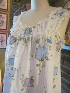 Vintage 1960's Baby doll nightie and panties by glamtownvintage, $20.00 Baby Doll Nighties, Cotton Nighties, Miniture Things, Tea Sets, Vintage Pink, Pale Pink, Night Gown, Baby Dolls, Gowns