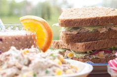 Sendvič s tuňákem a kukuřicí Sandwiches, Toast, Food, Essen, Meals, Paninis, Yemek, Eten