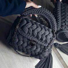 45 Amazing and Beautiful Bloom Knitting Bag Models for 2019 Crochet Bag Tutorials, Diy Crochet, Crochet Crafts, Crochet Projects, Bag Pattern Free, Crochet Basket Pattern, Crochet Patterns, Bag Patterns To Sew, Diy Handbag