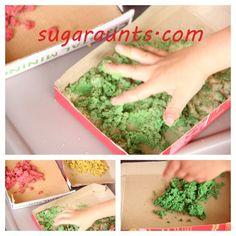 Sugar Aunts: Textured Paint Sensory Play