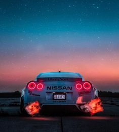 Nissan GTR sky mode 🌌🌌🌌 - - - - by Nissan Gtr R35, Nissan Gtr Skyline, Nissan Gtr Wallpapers, Car Wallpapers, Nissan Godzilla, Bugatti, Lamborghini, Ferrari, Sports Car Wallpaper