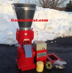 small electric pellet mill no motor, add your own